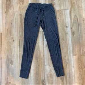 Aerie Drawstring Grey Joggers Size Small